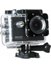 Camera Video Sport Panox MX200, 720p, Negru (Include 6 Accesorii)