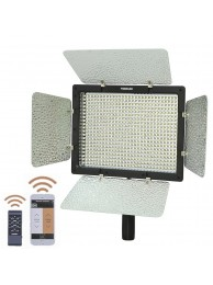 Lampa Lumina Continua LED Yongnuo YN 600II cu 600 LED-uri, Temperatura Culoare 3200K-5500K, Control Radio (IR 2.4GHz) sau SmartPhone (via Aplicatie mobila), include Alimentator