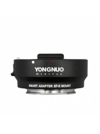 Yongnuo Smart Adapter EF - E Mount - adaptor Canon EF la Sony E