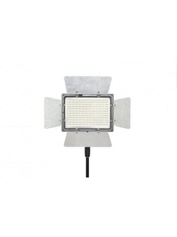 Lampa Lumina Continua LED cu Telecomanda Yongnuo YN 900 cu 900 LED-uri, Voleti detasabili, Temperatura Culoare 3200k-5500K, Control Wireless prin Smartphone, fara Alimentator