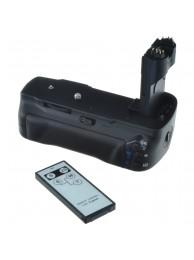 Grip Baterie Jupio pentru Canon 5DMKII (BG-E6) + Telecomanda