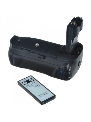 Grip Baterie Jupio pentru Canon 7D Mark II (BG-E12) + Telecomanda