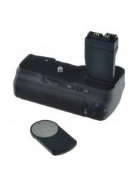 Grip Baterie Jupio pentru Canon 550D/600D/650D/700D (BG-E8) + Telecomanda, 3 Ani Garantie