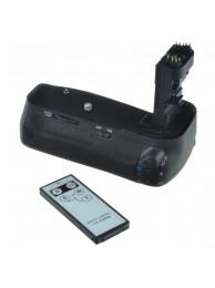 Grip Baterie Jupio pentru Canon 60D (BG-E9) + Telecomanda