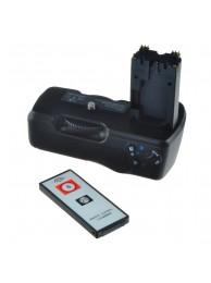 Grip Baterie Jupio pentru Sony A550/A500 (VG-B50AM) + Telecomanda, 3 Ani Garantie