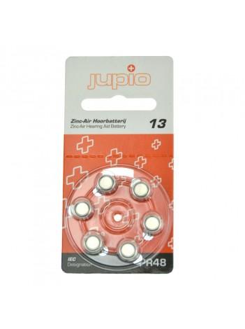 Baterii Alkaline Jupio pentru aparate auz, 13 Zinc Air Orange PR48 6 bucati