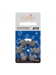 Baterii Alkaline Jupio pentru aparate auz, 675 Zinc Air Blue PR44 6 bucati