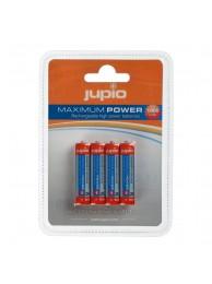 Baterii Jupio Reincarcabile AAA 1000 mAh 4 bucati, 1 An Garantie