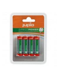 Baterii Jupio Reincarcabile cu descarcare lenta AA 2100 mAh 4  bucati DIRECT POWER (>80%)