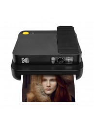 Aparat foto instant Kodak Smile Classic, Bluetooth, Imprimare Termica, Negru