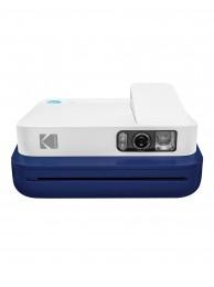 Aparat foto instant Kodak Smile Classic, Bluetooth, Imprimare Termica, Albastru