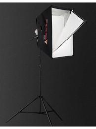 Photoflex KIT Studio Lumina Continua Halogen Starlite Mediu, 1000W, include SilverDome mediu