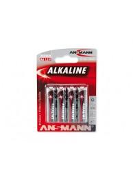 Ansmann baterii alcaline RED R6 (4 buc)