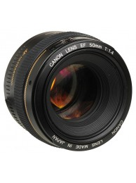 Obiectiv Canon EF 50mm f/1.4 USM + CashBack Canon 90 Lei