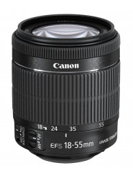 Obiectiv Canon EF-S 18-55mm f/3.5-5.6 IS STM - Standard Zoom, Bulk