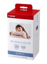 Canon KP-108IN, Ribbon + Hartie Foto