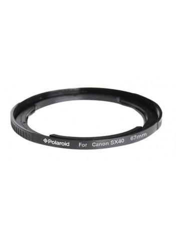 Inel Adaptor Polaroid cu Filet 67mm pentru Canon SX40 si SX50