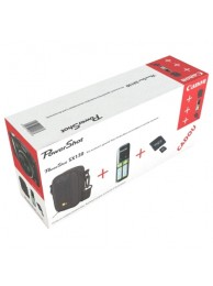 Kit Canon - Incarcator + Husa + Card 4GB