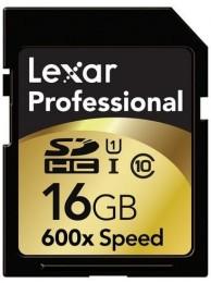Lexar Professional SDHC 16GB 633X UHS-I 90MB/s