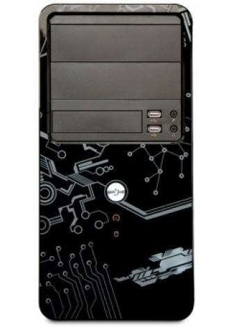 Njoy Maze Minitower Case, fara Sursa, 2x USB 2.0 + Audio + Mic, Kensington Lock, High Glossy Black