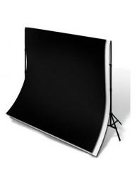 Polaroid Fundal Studio Negru, 3m x 5m