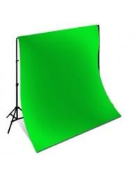 Polaroid Fundal Studio Verde, 3m x 5m