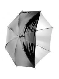 Polaroid Umbrela Convertibila, interior Alb, 101cm