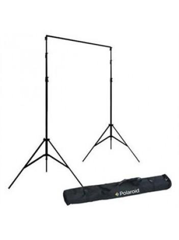 Polaroid Kit suport mobil pentru fundal, include 2 stative 2.9m, Bara telescopica 3.3m, Husa