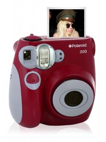 Camera Foto Instant Polaroid PIC 300 Rosu