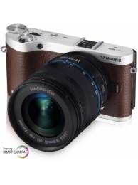 Samsung NX300 cu Obiectiv 18-55mm OIS, Maro