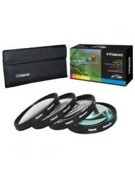 Set 4 filtre Macro Polaroid (+1,+2,+4,+10) 77mm, include Husa protectie
