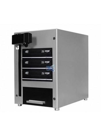 Vinpower Cube Duplicator Automat 2 x DVD/CD, Capacitate 25 discuri, HDD 320GB, Unitati Optice 24X Sony LightScribe