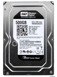 Western Digital 500GB Sata 3, 64MB 7200rpm WD BLACK