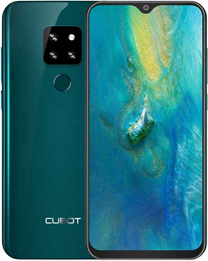 "Cubot P30, 6.3"" FHD+, 4+64GB, Android 9, Verde +Husa +Folie"