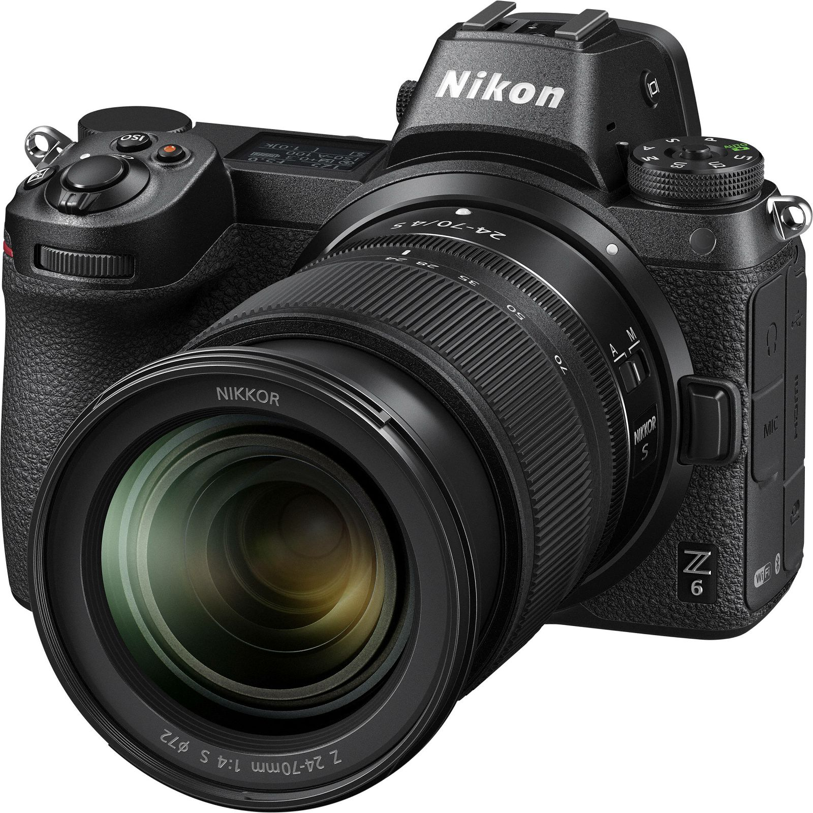Aparat Foto Mirrorless Nikon Z6  24.5MP Video 4K Kit cu Obiectiv 24-70mm f/4