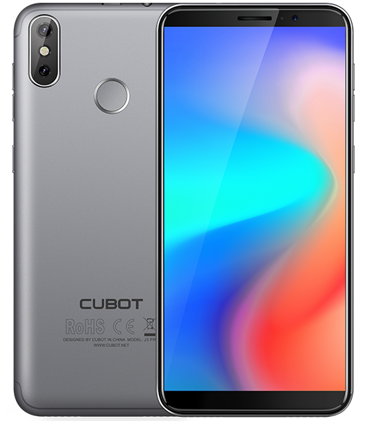 "Telefon Mobil CUBOT J3 PRO, 4G, 5.5"", 1+16GB, Android GO, Gri (include Husa Silicon si Folie)"
