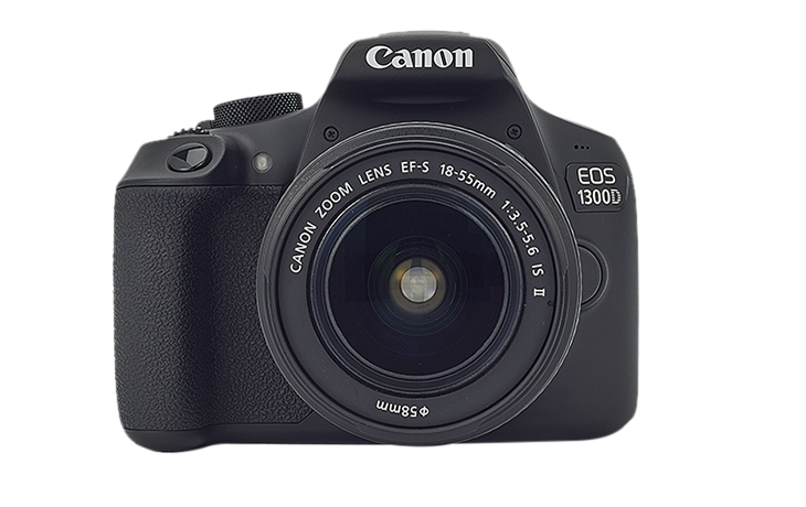 Canon EOS 1300D cu Obiectiv 18-55mm IS II