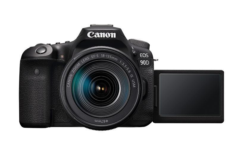 Canon EOS 90D cu Oboectiv 18-135mm IS USM