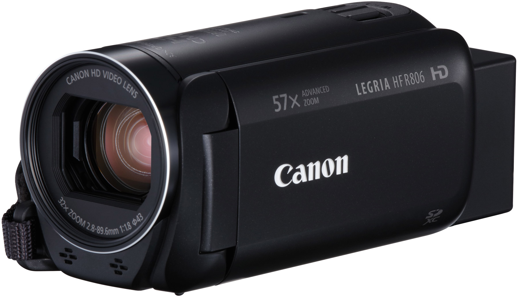 Camera Video Canon LEGRIA HF R806, 1080p, Zoom Optic 32x, Negru + CashBack Canon 140Lei