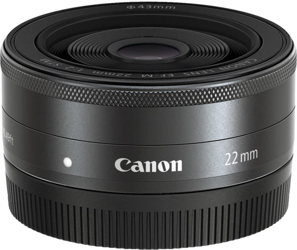 Obiectiv Canon EF-M 22mm /f2.0 STM - Wide Angle + CashBack Canon 90Lei