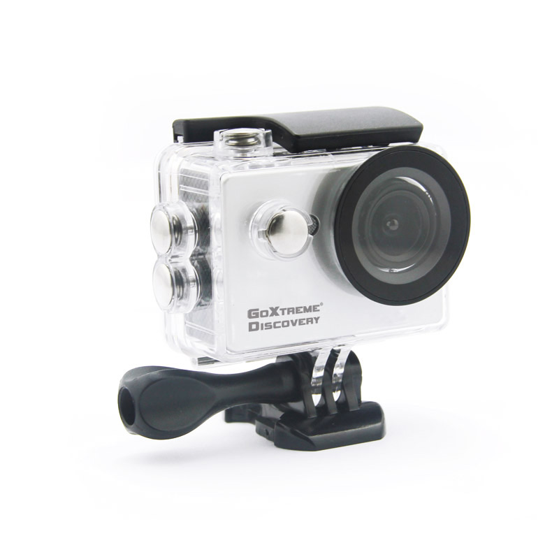 Camera Video de Actiune GoXtreme Discovery Full HD, Instantanee 12 MPx (Include 11 Accesorii)