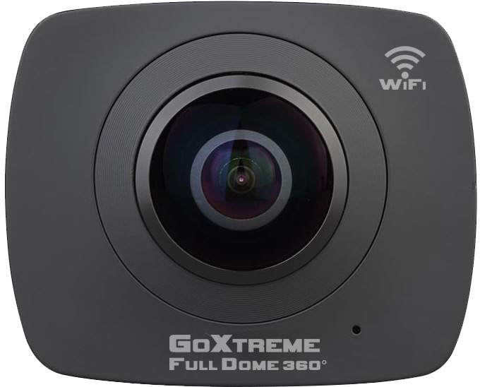 Camera Video de Actiune GoXtreme FULL DOME 360 grade, Capturi Video si Foto Panoramice (Include Tripod)