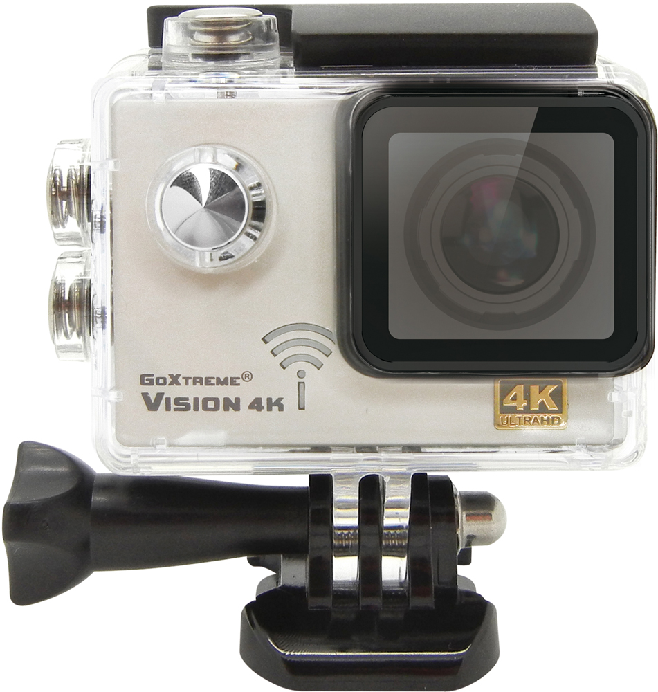 Camera Video de Actiune GoXtreme Vision 4K @25fps, 16 MPx (Include 8 Accesorii)