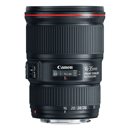 Obiectiv Canon EF 16-35mm f/4 L IS USM - Wide Angle Zoom  + CashBack Canon 470Lei